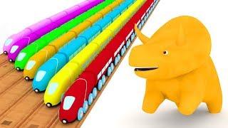 🔴 Ucz się z Dino i Ethan | bajka edukacyjna dla dzieci - LIVE 🔴