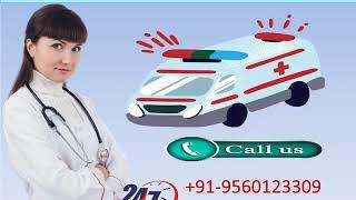Life Saver Road Ambulance Service in Bahu Bazar and Ashok Nagar by Medivic