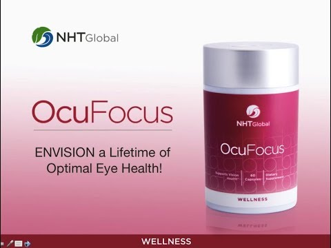 New! OcuFocus (with Lutemax 2020) by NHT Global - new product for better focus!