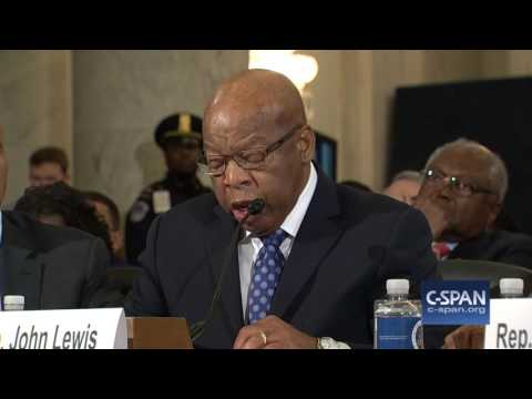 Rep. John Lewis complete testimony against Senator Sessions (C-SPAN)