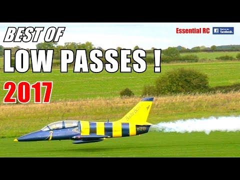BEST Of LOW PASSES 2017 ! ③ GIANT SCALE RC And SPEED COMPILATION
