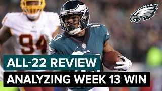 Analyzing The Victory Over Washington | Eagles All-22 Review