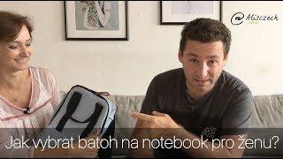 Jak vybrat batoh na notebook pro ženu? (Alisczech vol.17)