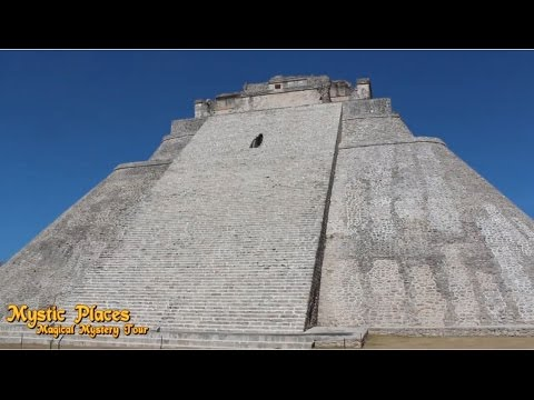 1.6 Mystic Places- Uxmal, Pyramid of the Magician & Maya Ruins. Mexico