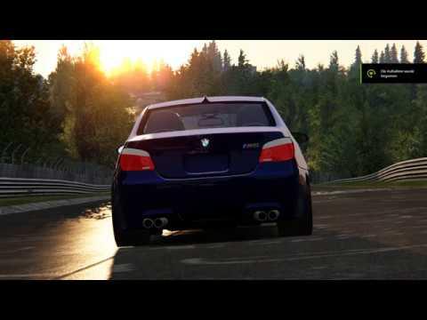 Assetto Corsa | M5 e60 V10 | Sound Mod | Test 2 - смотреть
