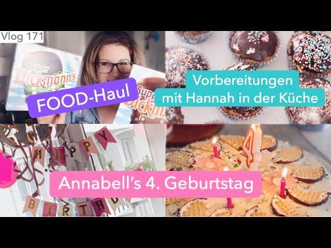 VLOG 171   Food-Haul   Sehnsucht nach Büroalltag?   Vorbereitungen & Annabells 4. Geburtstag