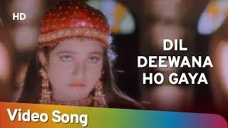 Dil Deewana Ho Gaya | Jurmana (1996) | Rambha   - YouTube