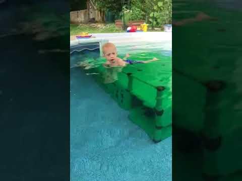 Pool Dock play Quadro Aqua