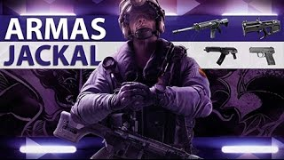 [PT-BR] RAINBOW SIX SIEGE - Equipamentos do Jackal [Operation Velvet Shell]