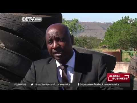 Tyre recycling business gaining ground in S. Africa