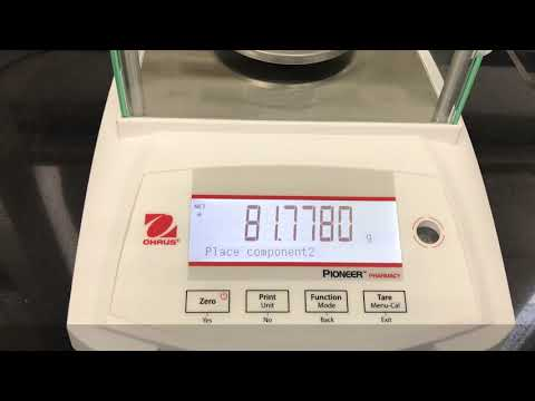 PXP125D Analytical Weighing Balance