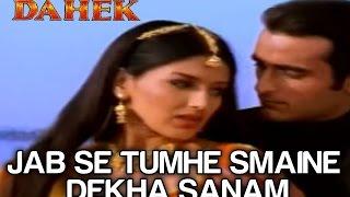 Jab Se Tumhein Maine Dekha  - Full Video   Dahek   Akshaye Khanna   Sonali Bendre   Udit Narayan
