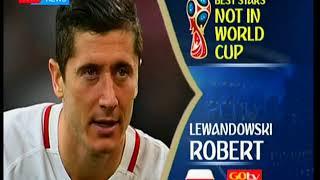 Best Stars not in the World Cup: Sigurdsson Gylfi, Robert Levandoski