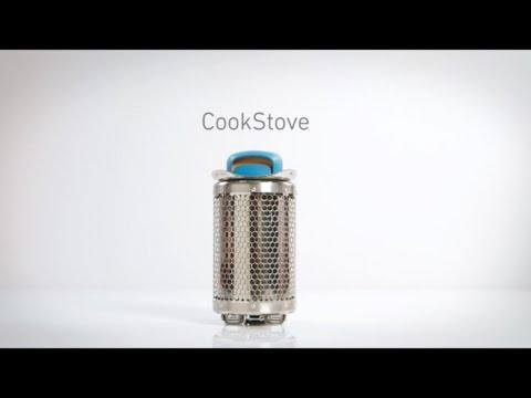 Смотреть видео Печь-щепочница BioLite Cookstove