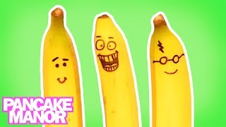 BANANAS FOR BANANAS SONG ♫ | Learning Foods | Kids Songs | Pancake Manor