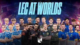 LEC at Worlds 2020 - Play-ins et phase de groupes