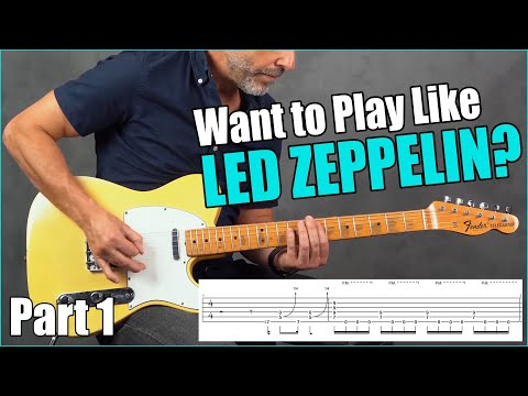 Top 10 Led Zeppelin Riffs You Can Play TODAY (Part 1)