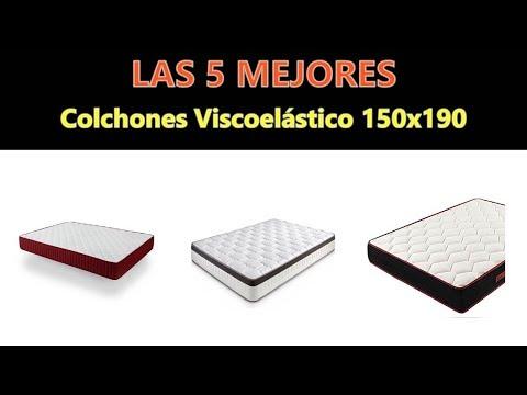 Mejores Colchones Viscoelástico 150x190 -  2019