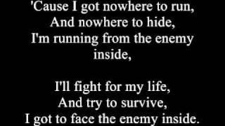 Papa Roach - The Enemy (Uncensored and Lyrics)