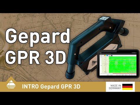 Ground Penetrating Radar, OKM Gepard GPR 3D [English]