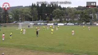 preview picture of video 'Svidník - TJ Veľké Revištia (skóre 1:3) 15.06.2014'