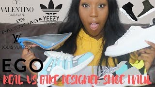 TRYING DESIGNER SHOE DUPES FROM EGO OFFICIAL SHOES !!! I CAN'T BELIEVE THIS...