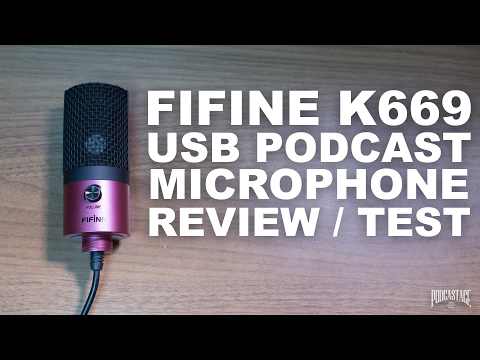 FiFine K669 USB Podcast Microphone Review / Test