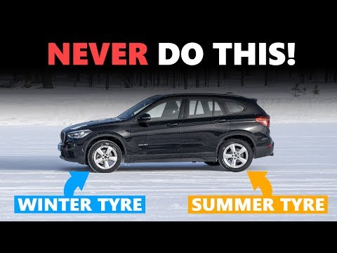 This is why you should NEVER fit just two winter tyres!