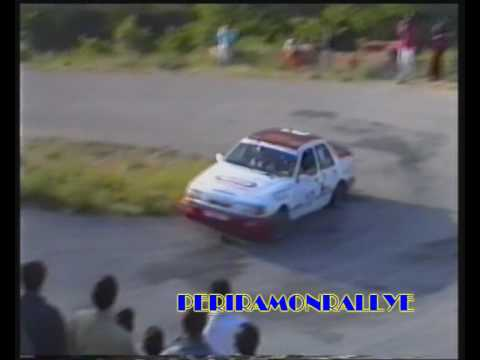 RALLYE MEDITERRANEO 1992 TC B2 TORREMANZANAS 1 PARTE.wmv