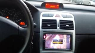"Peugeot 307  Autoradio KKmoon 7"" 7010B Card Player Bluetooth"