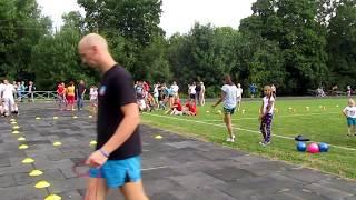 День физкультурника, прыжки со скакалкой. Гатчина, 2018