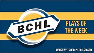 BCHL Plays of the Week: 2020-21 Week Five