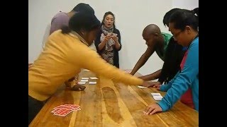 University of Western Cape students challenge each other with Ogoola!