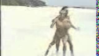 Прикол Бег по пляжу