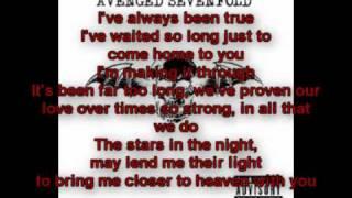 Avenged Sevenfold - Gunslinger Lyrics