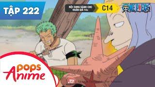 One Piece Tập 222 - Hải Tặc Lên Đảo - Lấy Lại Ký Ức - Phim Hoạt Hình