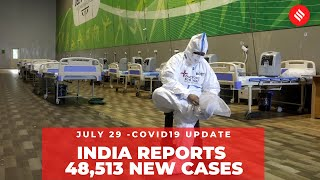 Coronavirus on July 29, India reports 48,513 new cases in 24 hours - Download this Video in MP3, M4A, WEBM, MP4, 3GP