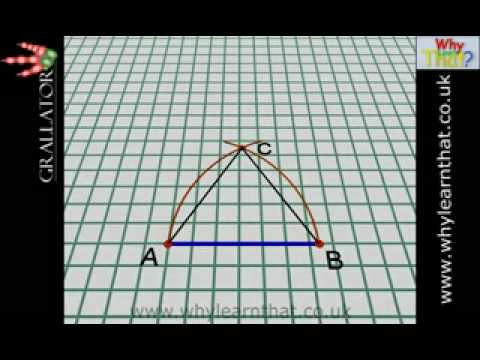 How to draw an equilateral triangle? | Yahoo Answers