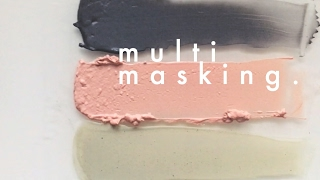 multimasking: bonvivant clay masks   thai-ing it out