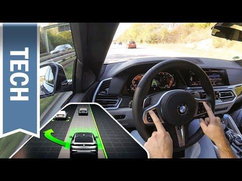 Neuer(!) Spurwechselassistent des Driving Assistant Professional (2020) im BMW X6