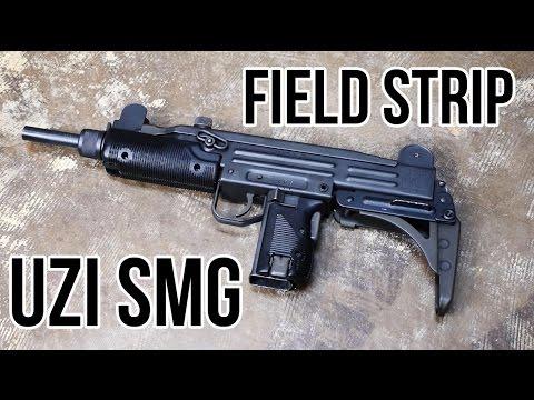 Uzi SMG Field Strip