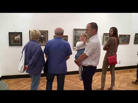 Krónika: Salamon György kiállítása (2017.09.11.)