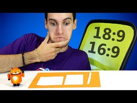 Ratio de pantalla 18:9 vs 16:9 - ¿Cuál es MEJOR?