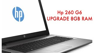 Hp 250 g6  how to  upgrade 8gb RAM Disassembly