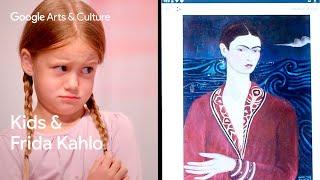 Kids explain art to experts: Alexa (5) vs Frida Kahlo | Name That Art