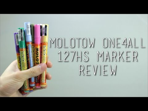 Molotow One4All 127HS Marker Review