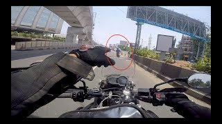 He just wanted to Race with me | Triumph Tiger Ride