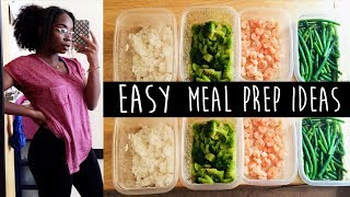 Meal Prep In A College Dorm | Eat Healthy + SAVING MONEY