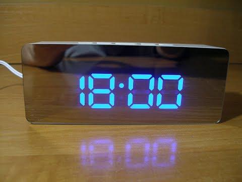 Цифровые часы с зеркальной лицевой панелью TS-S69