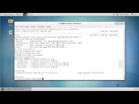 How to install XRDP in CentOS | LinuxHelp Tutorials